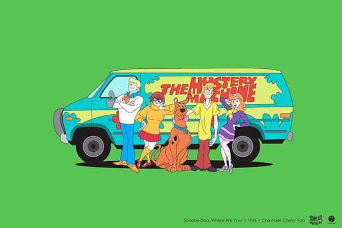 L'auto di Scooby Doo