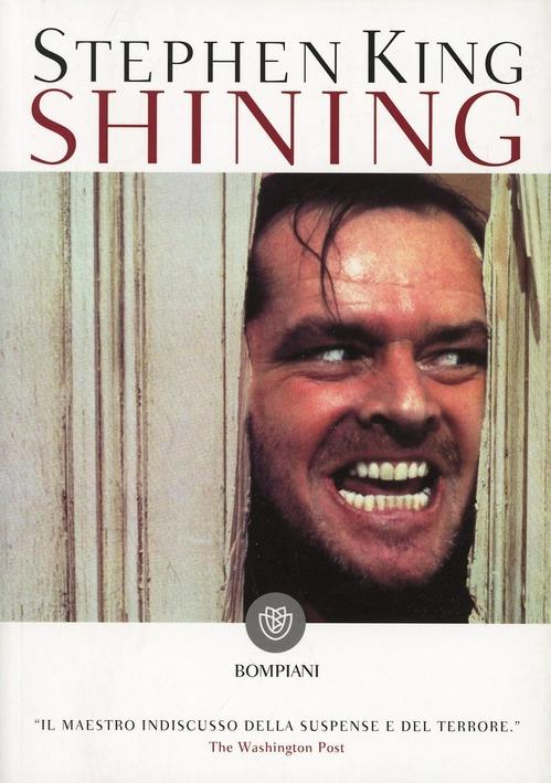 La copertina del libro Shining - Stephen King,i migliori libri