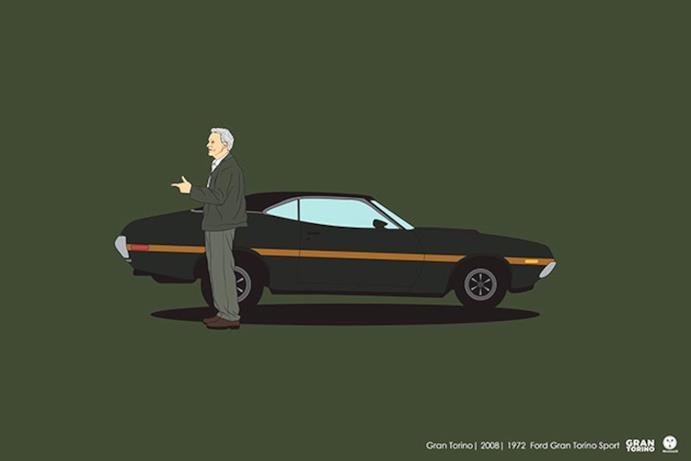L'auto di Clint Eastwood in Gran Torino