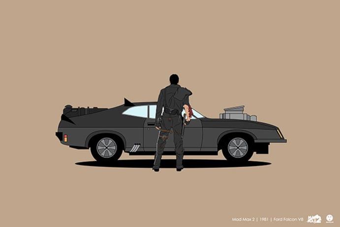 L'auto presente in Mad Max