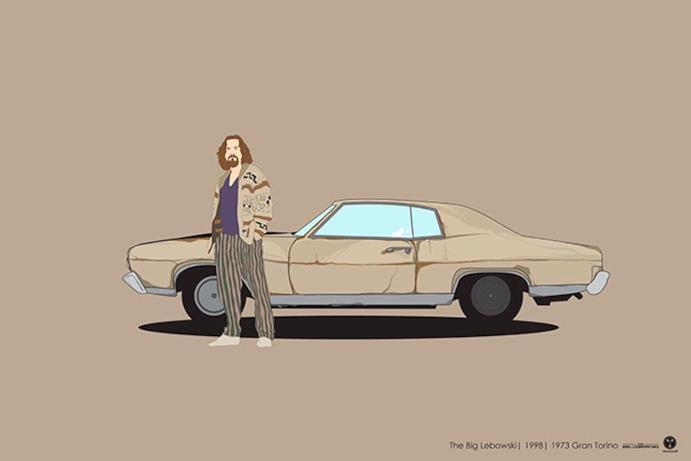 L'auto del film Il grande Lebowski