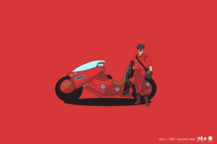 La moto di Akira