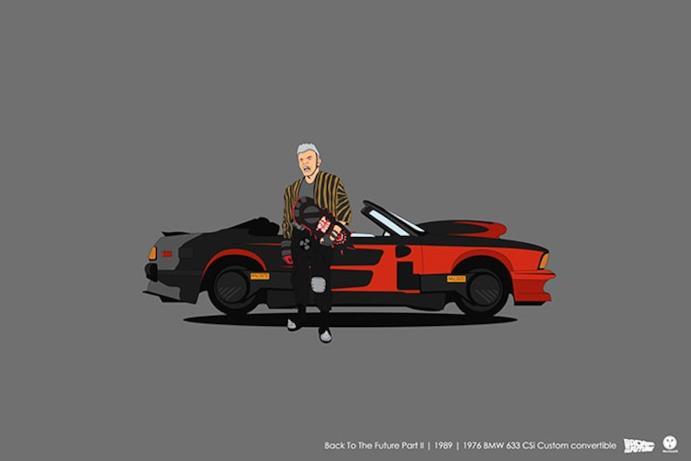 L'auto da Ritorno al futuro II