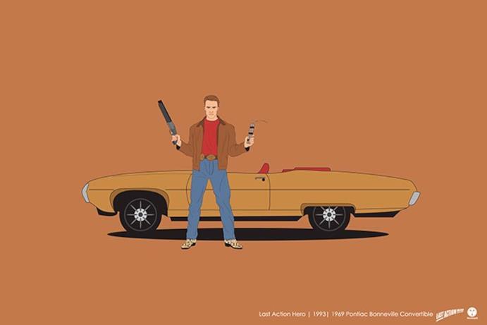 L'auto del protagonista