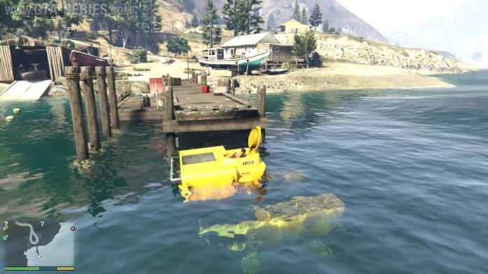 Come avere un sottomarino in GTA 5