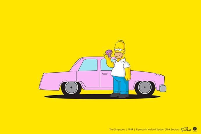 L'auto di Homer
