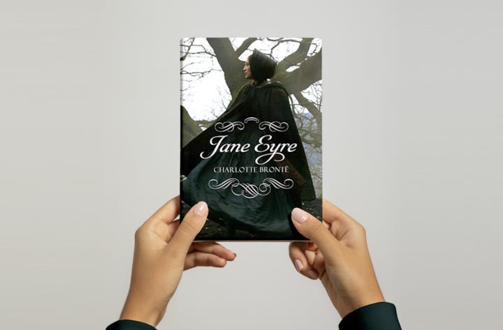 Cover di Jane Eyre, il romanzo di Charlotte Brontë