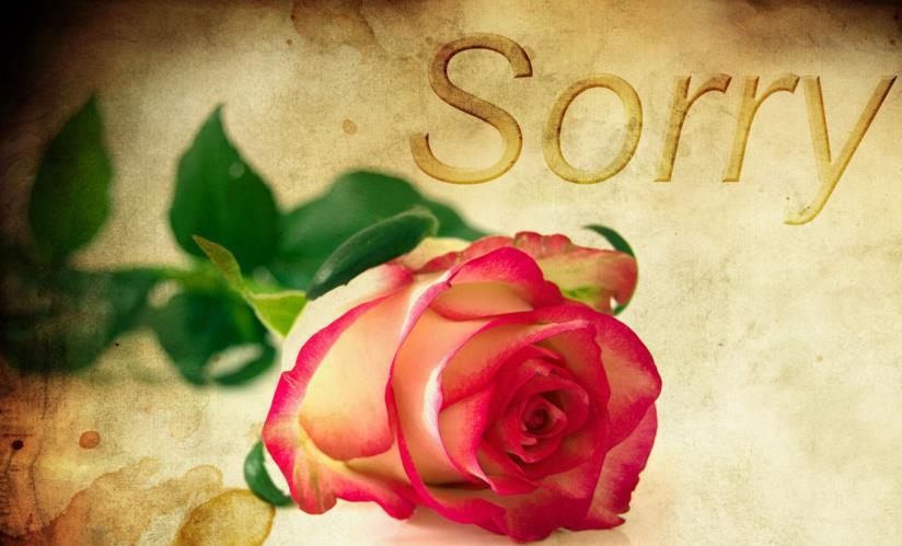 Immagine di copertina per frasi di scuse