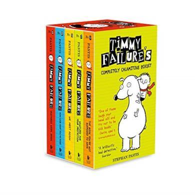 TIMMY FAILURE BOXSET SS