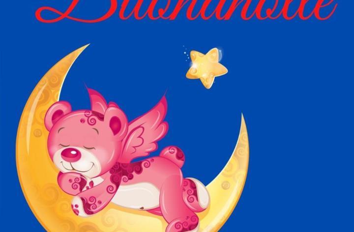 Immagine orsetto con augurio della buonanotte