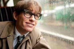 Una scena del film su Stephen Hawking La teoria del tutto