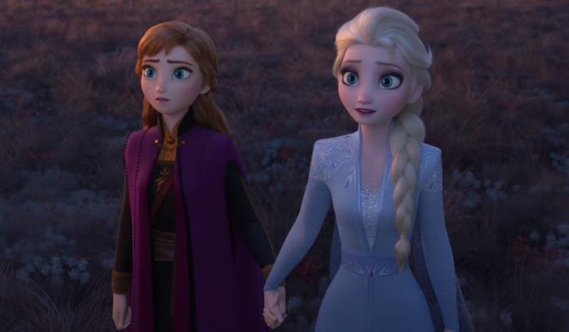 Frozen 2, le sorelle Anna e Elsa