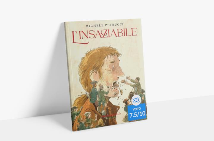 La copertina de L'insaziabile