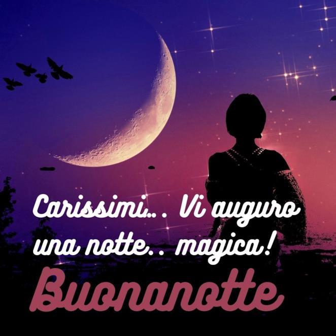 Carissimi…. Vi auguro una notte.. magica! Buonanotte