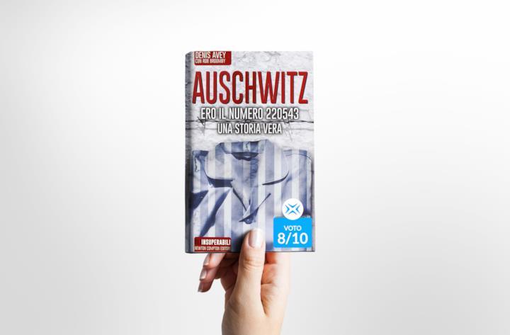 Cover del libro Auschwitz. Ero il numero 220543