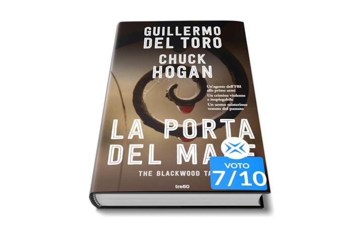 Romanzo di Guillermo del toro, la copertina