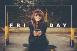 Frasi e immagini sul venerdì da condividere