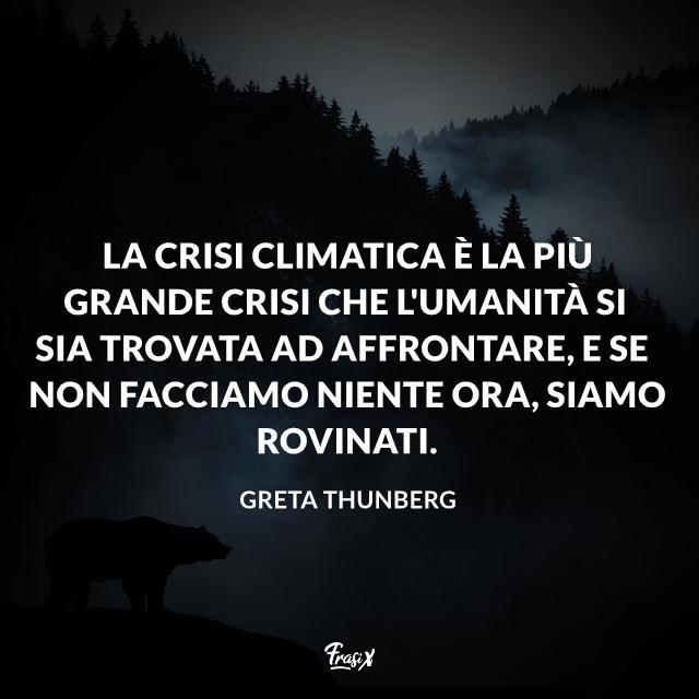 Una selezione di frasi di Greta Thunberg in difesa dell'ambiente