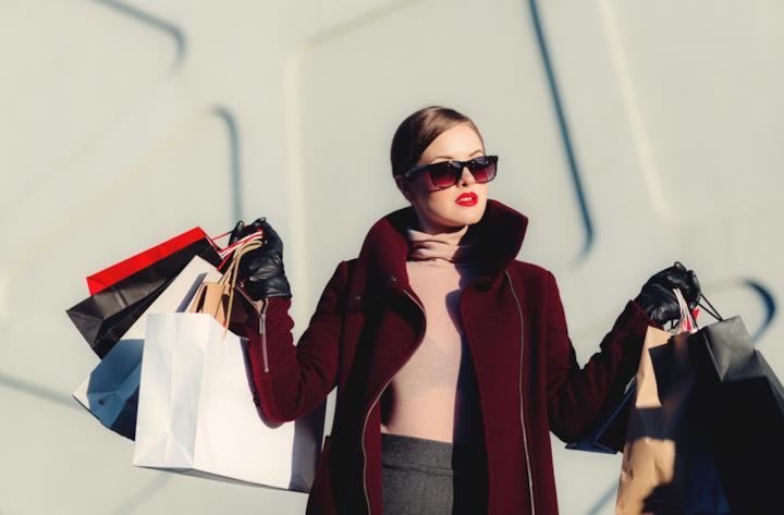 Copertina frasi sullo shopping