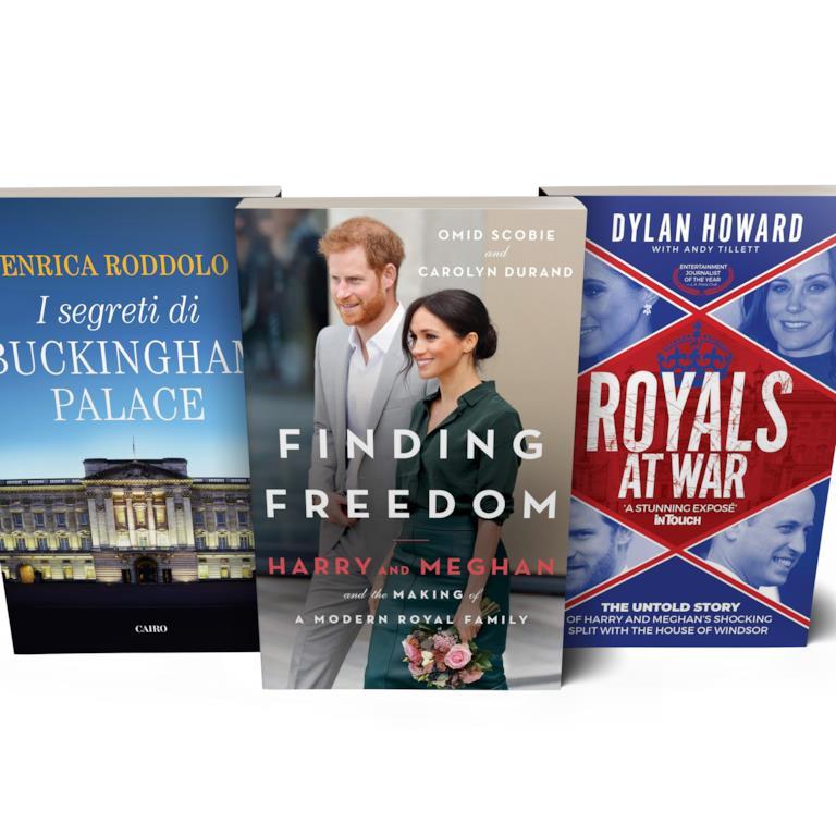 I libri dei reali inglesi