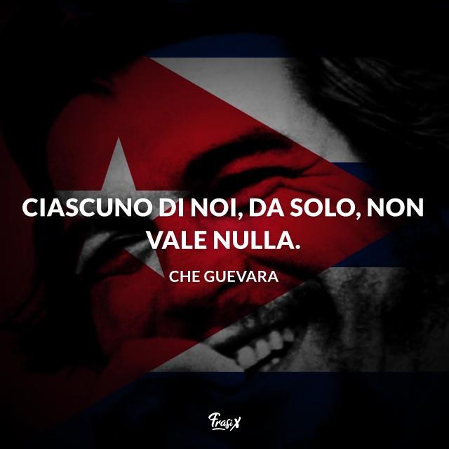 Aforismi famosi di Che Guevara