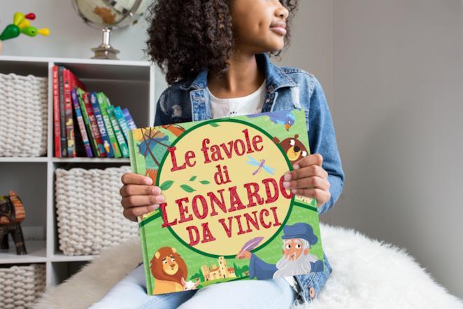 Libri di fiabe da leggere ai bambini: Le favole di Leonardo da Vinci