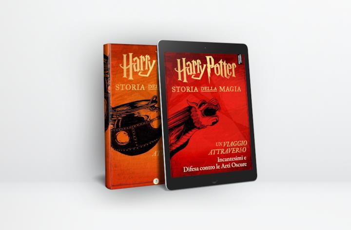 La nuova serie di e-book ufficiali editi da Pottermore Publishing