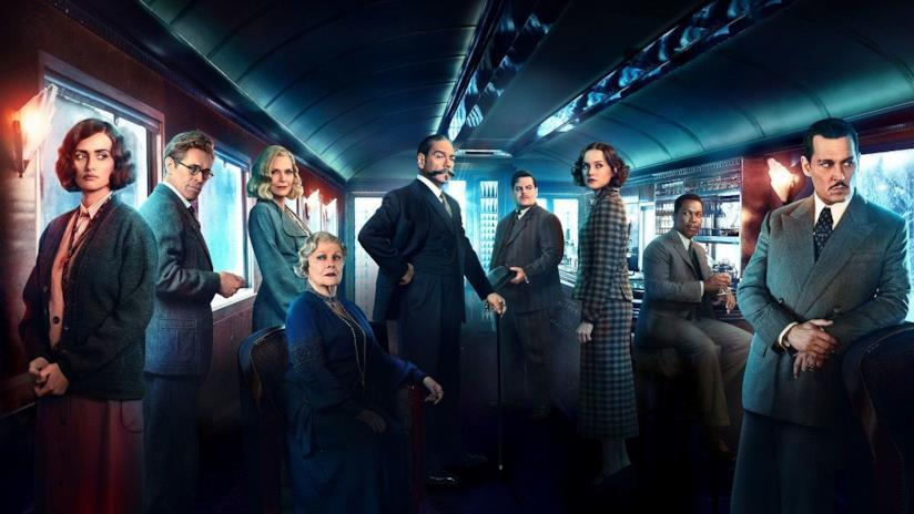 Assassinio sull'Orient Express, la copertina del film