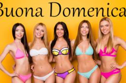 Delle ragazze in bikini - Immagini sexy per buongiorno, buon compleanno, buonanotte e buona domenica