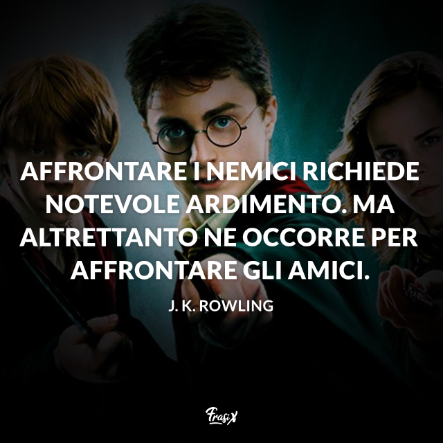 Frasi Di Amicizia Harry Potter.Harry Potter Citazioni Frasi E Immagini Tratte Dai Romanzi