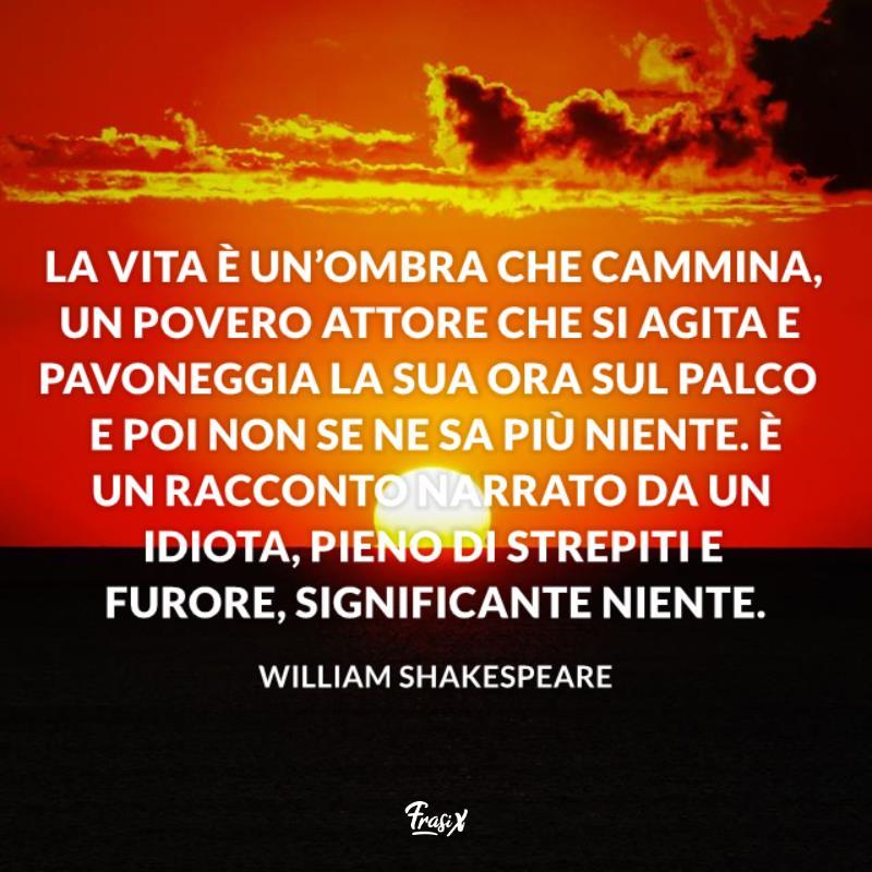 Shakesperare Frasi E Aforismi Più Famosi