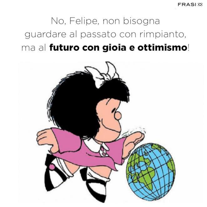 Frasi belle di Mafalda sul futuro