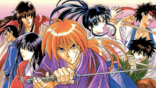 Kenshin samurai vagabondo manga