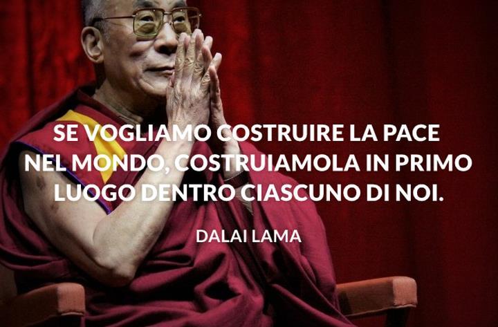 Una selezione di frasi sagge e toccanti del Dalai Lama