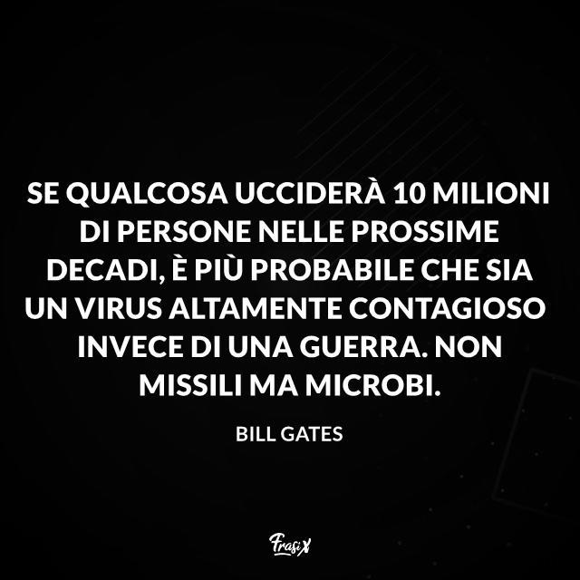 Una selezione di frasi famose, memorabili e persino profetiche pronunciate da Bill Gates