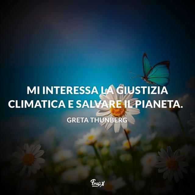 Frasi Greta Thunberg