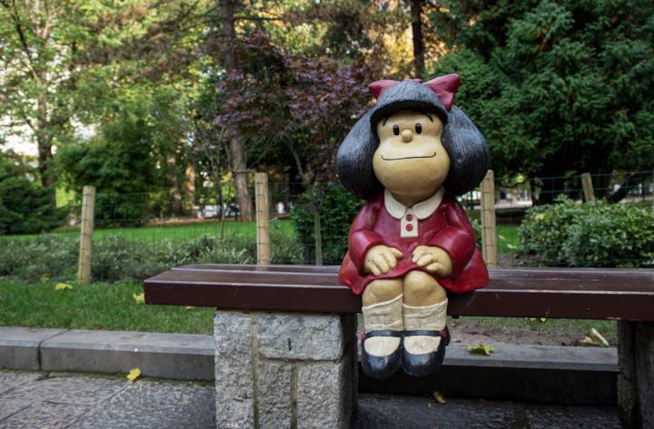 La statua di Mafalda