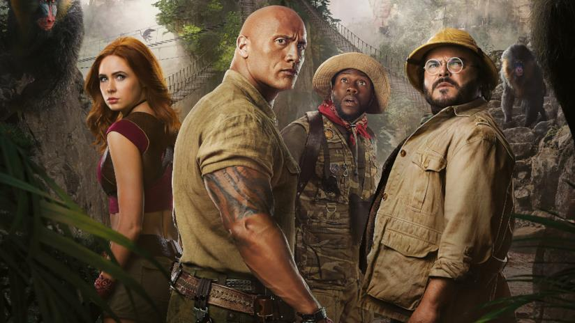 Copertina del film Jumanji - The Next Level