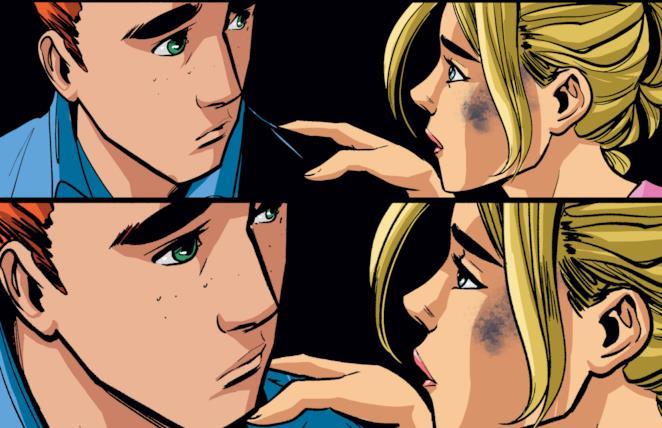 Un momento nostalgico tra Betty e Archie nel secondo volume
