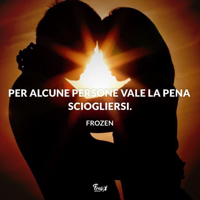 Immagine con frase di San Valentino dei film