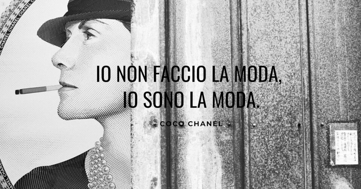 Coco Chanel Le Frasi Celebri Su Moda Eleganza E Vita