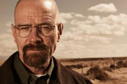 Walter White alias Bryan Cranston in Breaking Bad