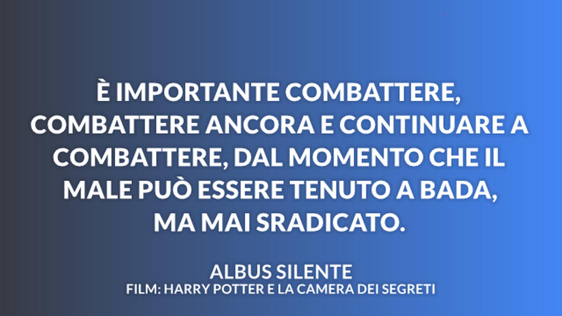 Le Frasi Dei Film Di Harry Potter Piu Belle Ed Emozionanti Della Saga