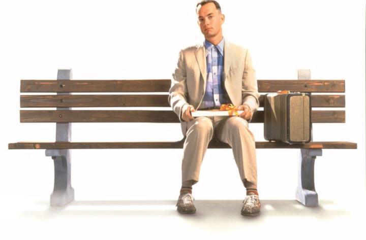 Tom Hanks è Forrest Gump