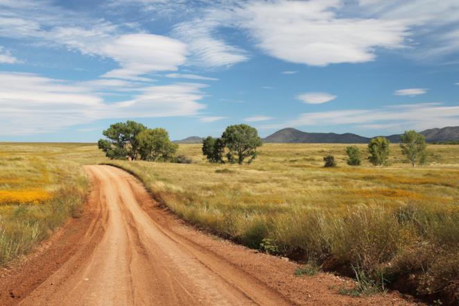 Copertina frasi sul paesaggio di campagna