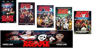Scary Movie Collezione Completa 1-2-3-4-5 ( 5 Film Dvd) Edizione Italiana