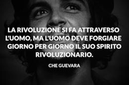 Una selezione di aforismi pronunciati dal mitico rivoluzionario Che Guevara