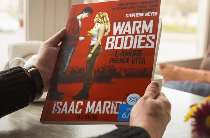 Cover di Warm Bodies di Isaac Marion