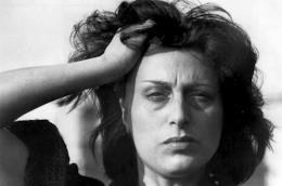 Anna Magnani nel film Mamma Roma con frase