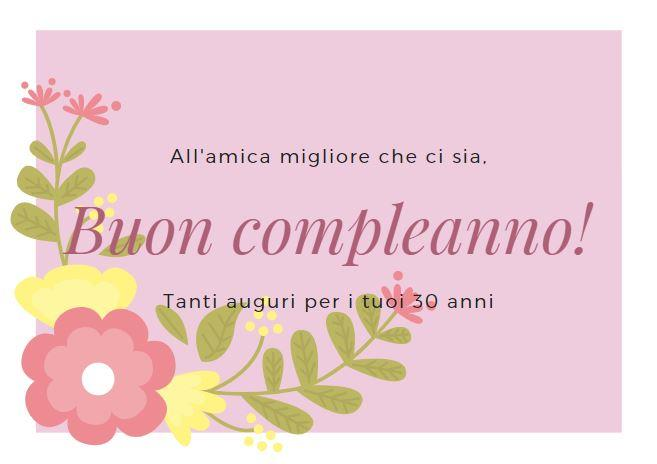 Frase Compleanno 30 Anni